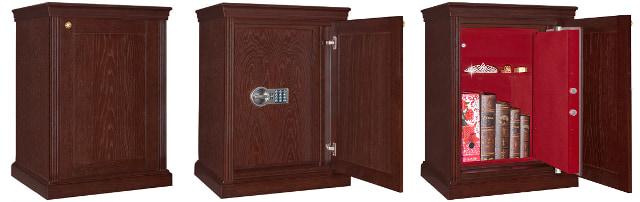 Эксклюзивные сейфы в скрытом исполнении изготавливаются под заказ.