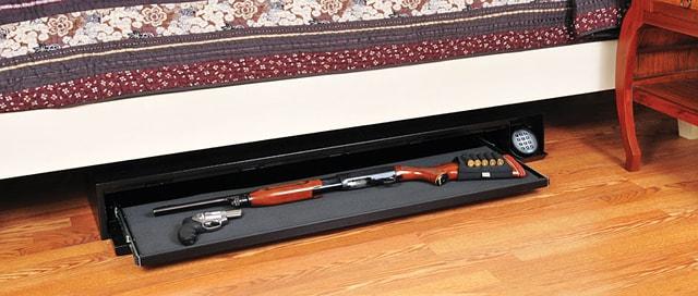 Подкроватный оружейный сейф AMSEC DV652.