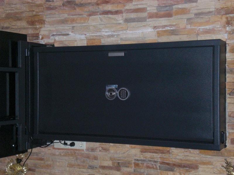 Модификация, оборудованная специальным кронштейном под плазменную панель.